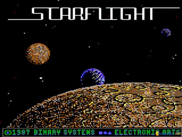 Starflight - game cover