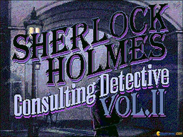 Sherlock Holmes: Consulting Detective Vol. 2 - title cover
