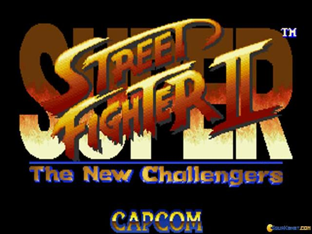 Super Street Fighter 2: The New Challengers - title cover