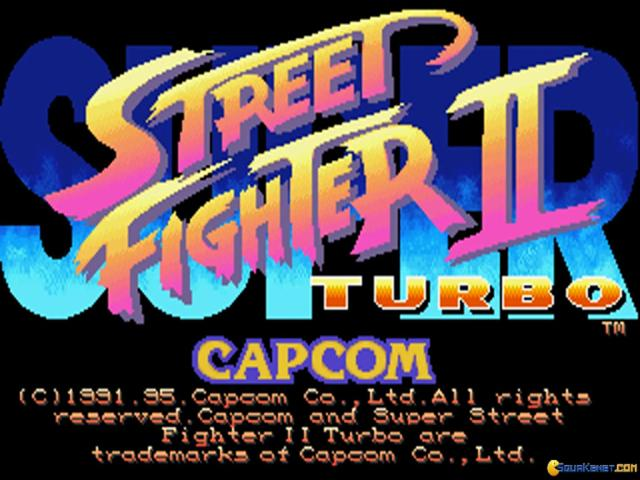 Super Street Fighter 2 Turbo - game cover