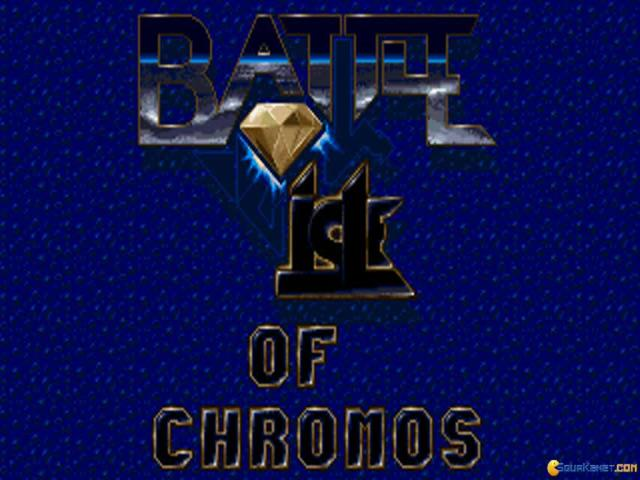 Battle Isle 93 - The Moon of Chromos - title cover