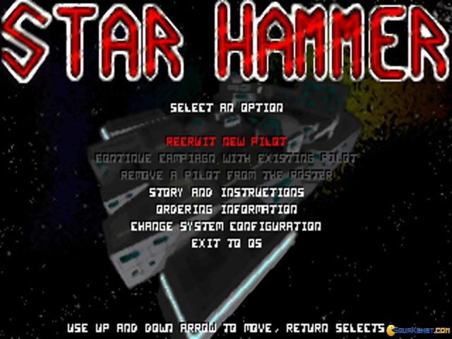 Star Hammer - title cover