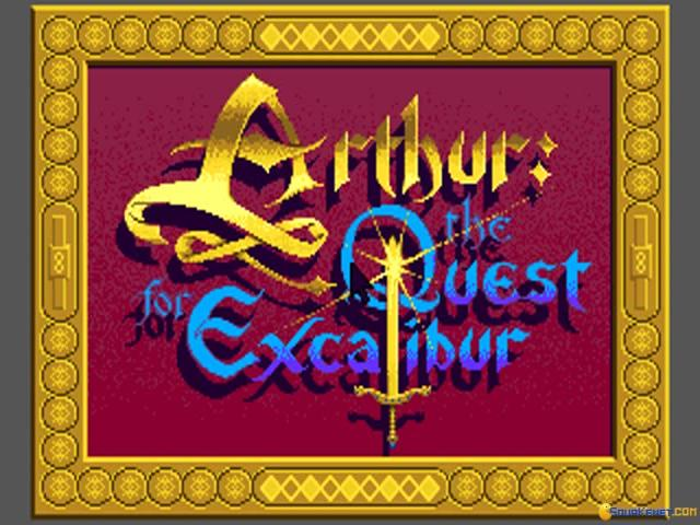 Arthur: the Quest for Excalibur - title cover