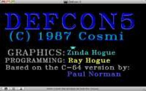 Defcon 5 - title cover