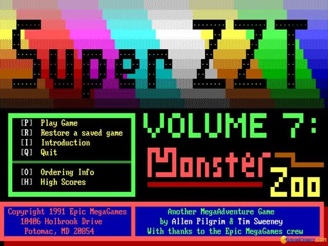 Super ZZT - game cover