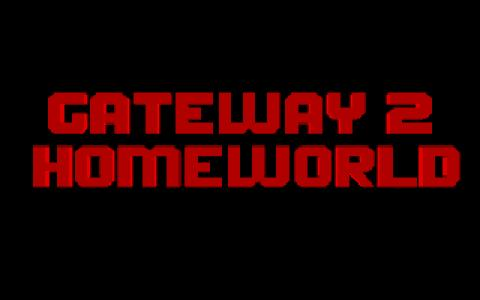 Gateway 2: Homeworld - title cover