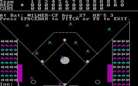Baseball - game cover