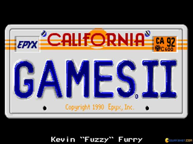 California Games 2 - title cover