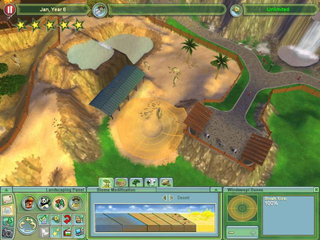Zoo Tycoon 2 - title cover