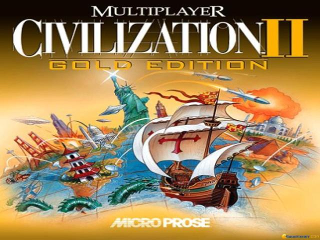 Civilization 2: Multiplayer Gold Edition - game cover