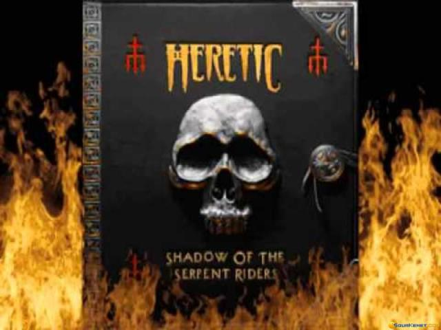 Heretic: Shadow of the Serpent Riders - title cover