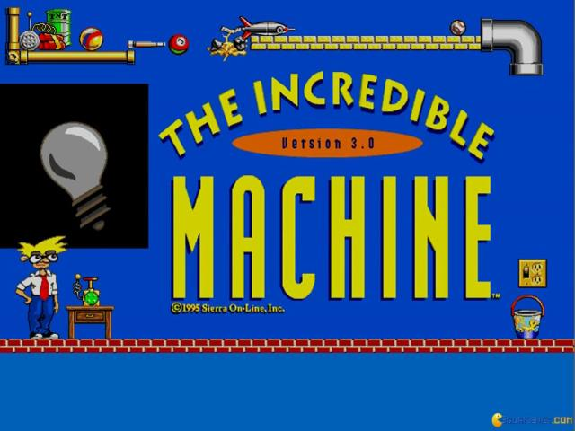 The Incredible Machine 3 - title cover