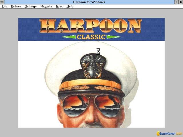 Harpoon Classic - game cover