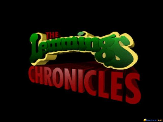 Lemmings Chronicles - title cover