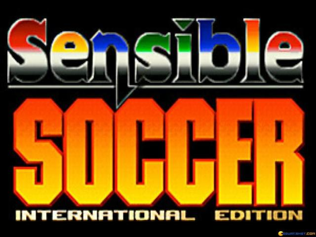 International Sensible Soccer - title cover