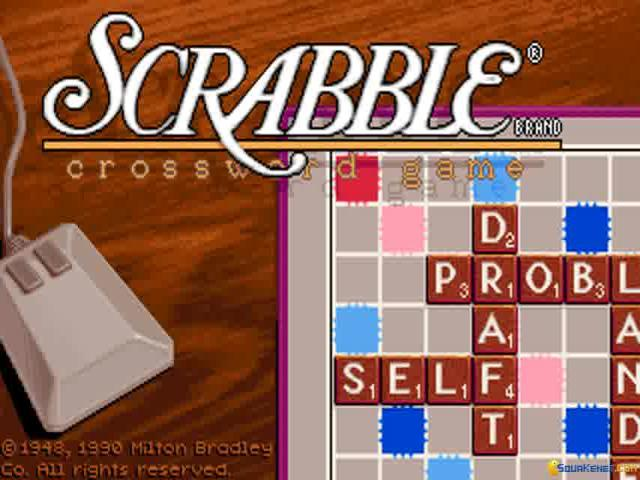 Scrabble: Deluxe Edition - game cover