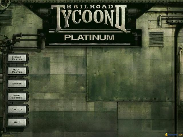 Railroad Tycoon 2: The Second Century - title cover