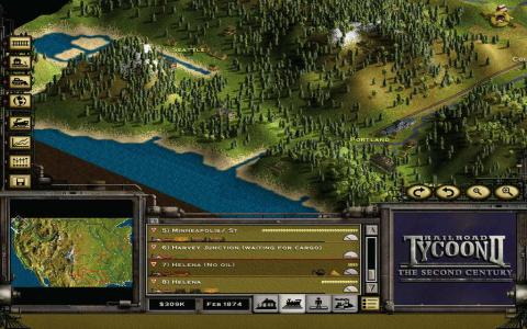 Railroad Tycoon 2: The Second Century download PC
