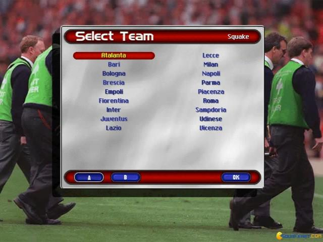 Ultimate Soccer Manager 98 - title cover