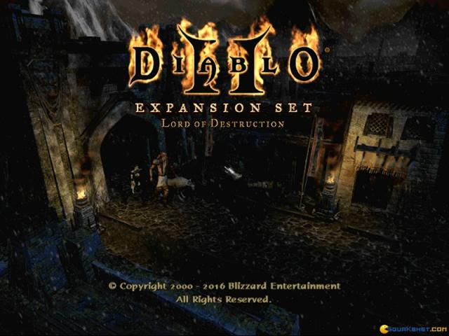 Diablo II - Lord of Destruction - title cover