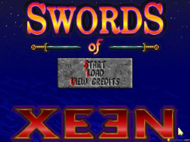 Might and Magic: Swords of Xeen - title cover