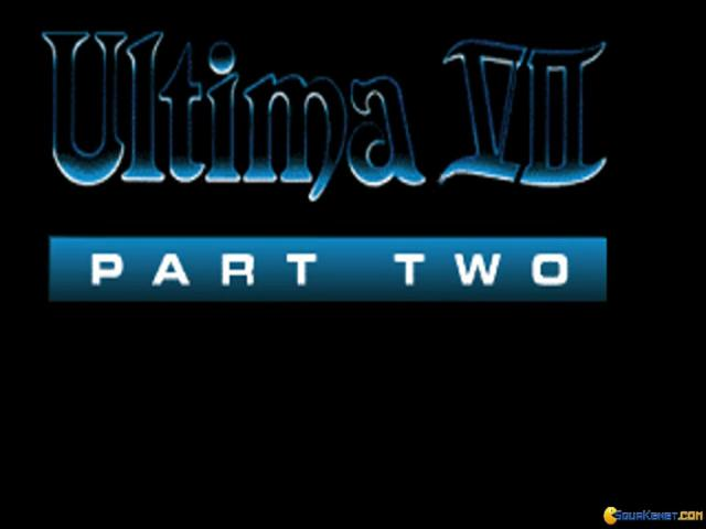 Ultima 7 part 2: the Silver Seed - title cover