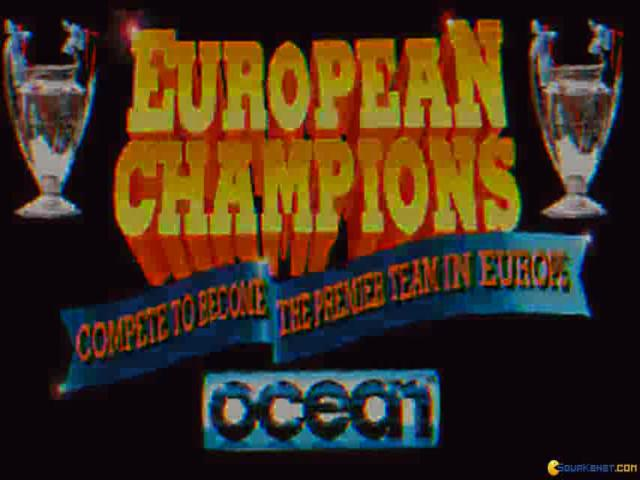 European Champions - title cover