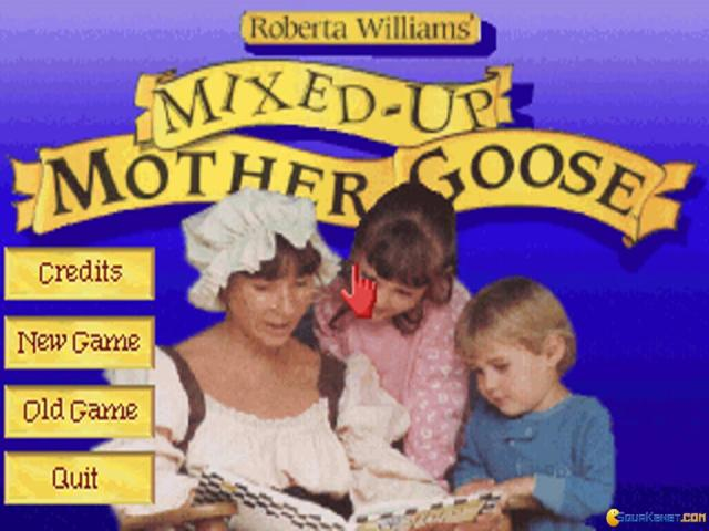 Roberta Williams' Mixed-Up Mother Goose - title cover
