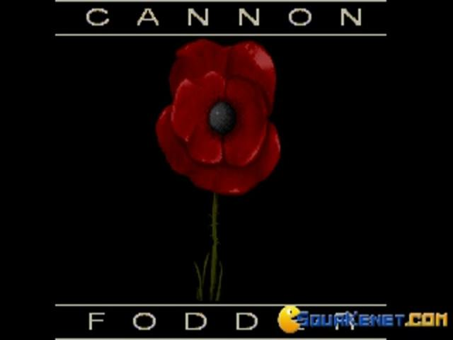 Cannon Fodder - game cover