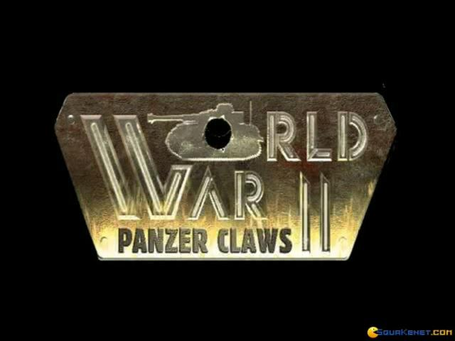 World War II: Panzer Claws - title cover