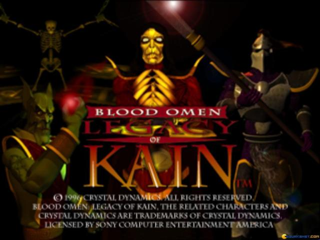 Blood Omen: Legacy of Kain - game cover