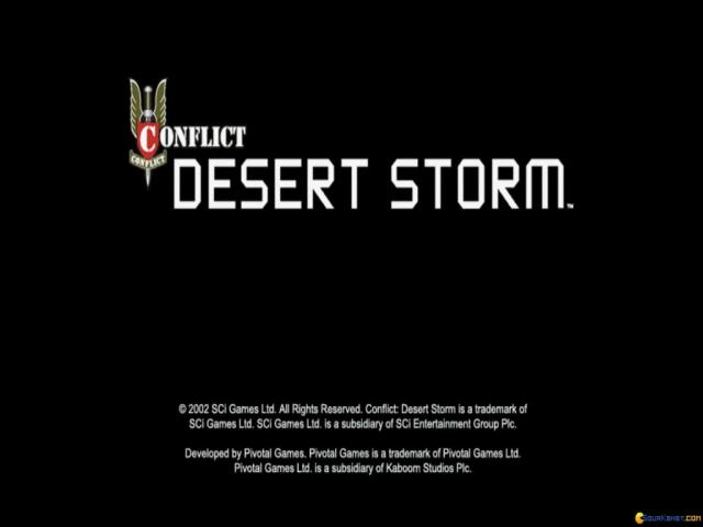 Conflict: Desert Storm - game cover