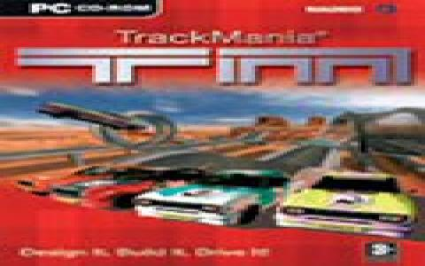 TrackMania - game cover