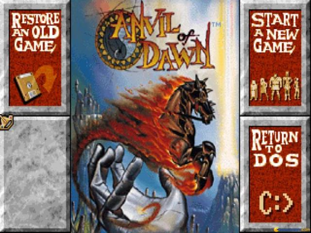 Anvil of Dawn - title cover
