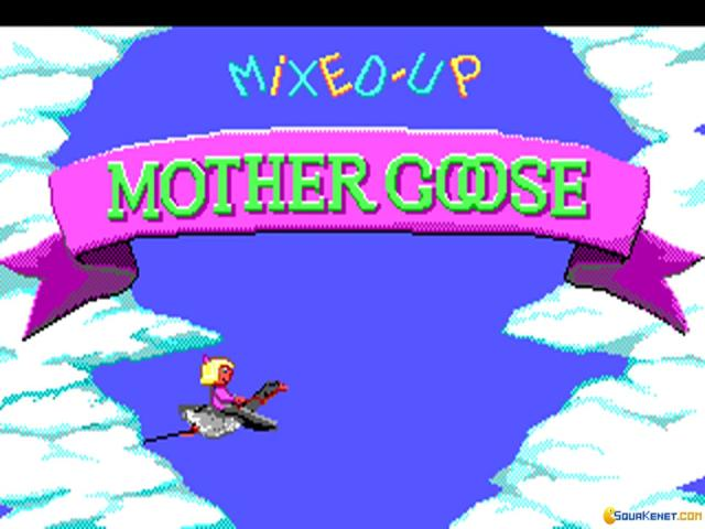 Mixed-Up Mother Goose - game cover