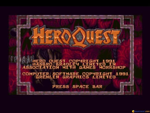 Hero Quest - game cover