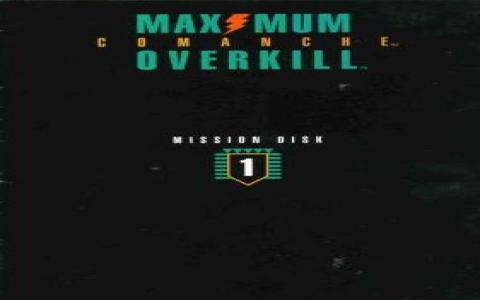 Comanche: Maximum Overkill - Mission Disk 1 - game cover