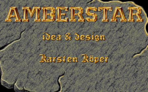 Amberstar - game cover