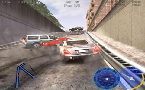 European Street Racing - game cover