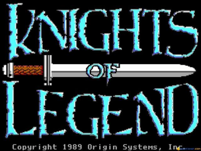 Knights of Legend - title cover