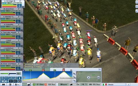 Pro Cycling Manager - Tour de France 2008 - title cover