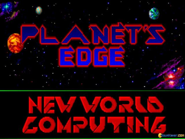Planet's Edge - title cover
