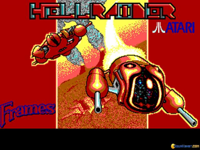 Hellraider - title cover