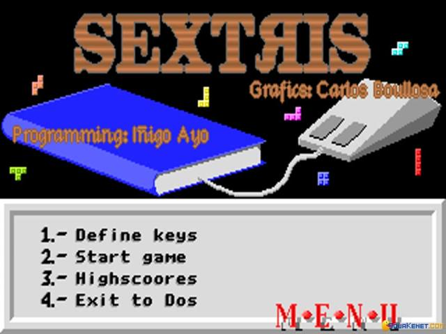 Sextris - game cover