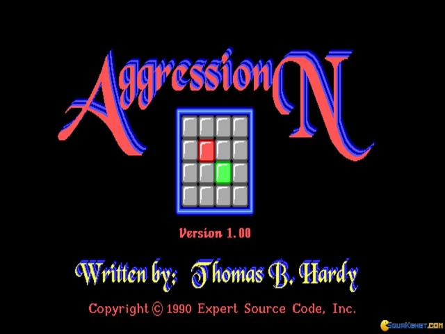 Aggression - game cover