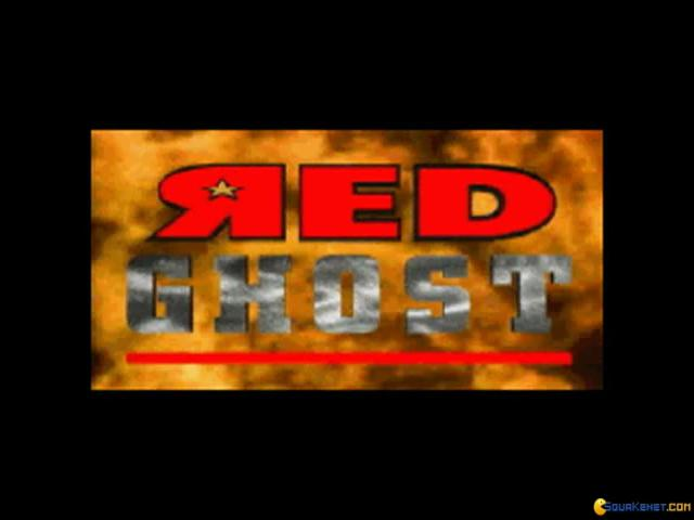 Red Ghost - title cover