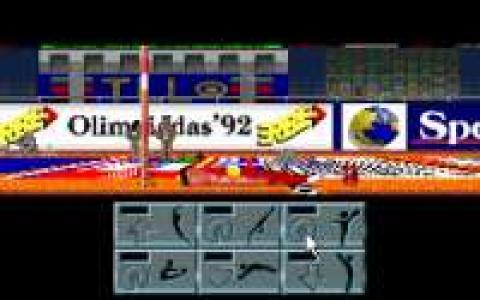 Olimpiadas 92: Gimnasia Deportiva - game cover