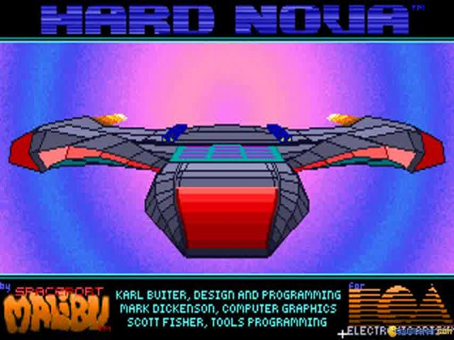 Hard Nova - game cover
