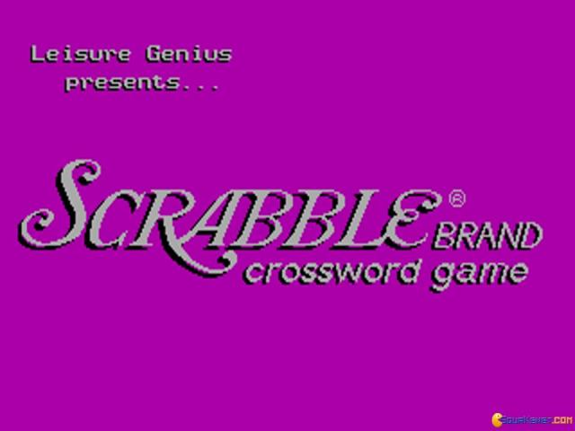 The Computer Edition of Scrabble Brand Crossword Game - game cover