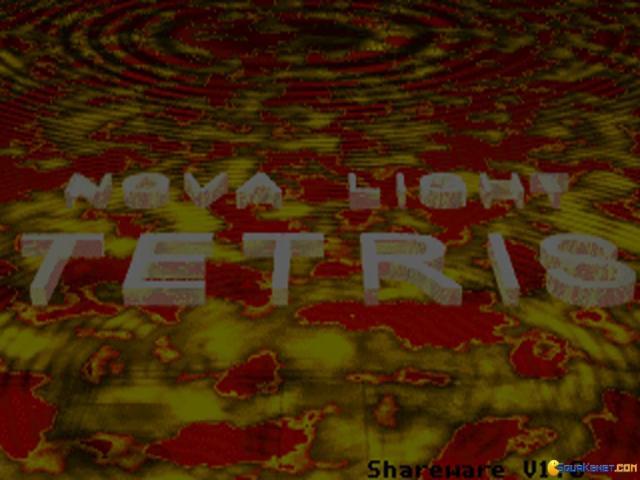 Novalight Tetris - title cover